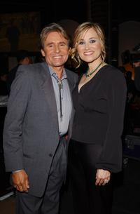 Davey Jones and Maureen McCormick at the TV Land Awards 2003.