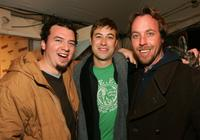 Danny McBride, Jodey Hill and Ben Best at the Entertainment Weekly Party during the Sundance Film Festival.