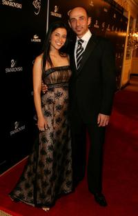 Bahar Soomekh and Shaun Toub at the 9th annual Costume Designers Guild Awards.