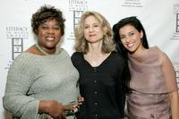 Loretta Devine, Libby Beers and Bahar Soomekh at the Literacy Networks' LIMA awards dinner.