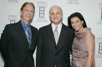 Rich Capparela, Ed Romano and Bahar Soomekh at the Literacy Networks' LIMA awards dinner.