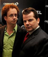 Kevin McDonald and Bruce McCulloch at the Chanel Party during the 2008 Toronto International Film Festival.