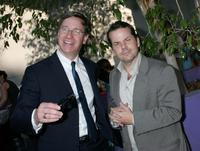 Paul Feig and Bruce McCulloch at the party for Paul Feig's sci-fi novel