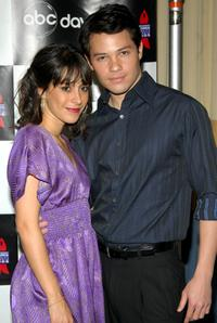 Kimberly McCullough and Jason Tam at the 4th Annual ABC Daytime Salutes Broadway Cares / Equity Fights AIDS.
