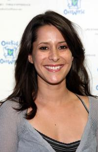 Kimberly McCullough at the OneKid OneWorld's shop.