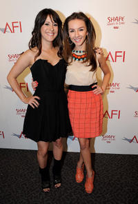 Kimberly McCullough and Lexi Ainsworth at the AFI Directing Workshop for Women 2011 Showcase in California.