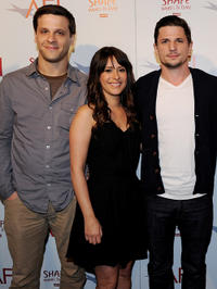 Micah Cohen, Kimberly McCullough and Michael Trotter at the AFI Directing Workshop for Women 2011 Showcase in California.