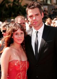 Kimberly McCullough and Jason Thompson at the 34th Annual Daytime Emmy Awards.