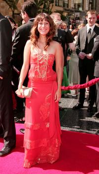 Kimberly McCullough at the 34th Annual Daytime Emmy Awards.