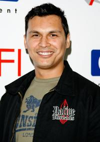 Adam Beach at the 7th Annual AFI Awards luncheon.