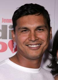 Adam Beach at the premiere of