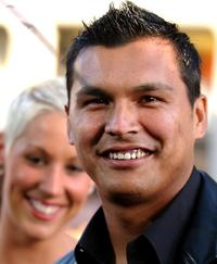 Adam Beach at the premiere of his film