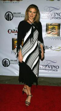 Sonya Smith at the Post reception party for the Latin Grammy's.