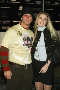 Fernando Carillo and Sonya Smith at the