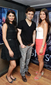 Sayali Bhagat, Shiney Ahuja and Julia Bliss at the promotion of
