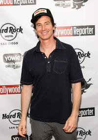 Rob Huebel at the Rock Star Media Lounge featuring The Hollywood Reporter and Yowie.com the during Comic-Con 2010.