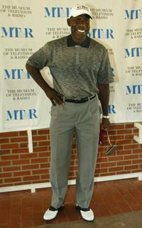 James McDaniel at the Museum of Television and Radio's Third Celebrity Golf Classic.