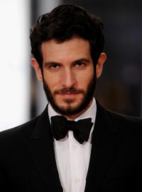 Quim Gutierrez at the Red Carpet of Goya Awards 2011 in Spain.