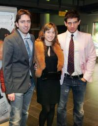 Daniel Sanchez Arevalo, Marta Etura and Quim Gutierrez at the premiere of