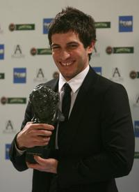 Quim Gutierrez at the Goya Awards.