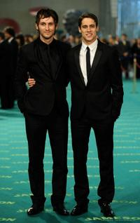 Raul Arevalo and Martin Rivas at the Goya Cinema Awards 2009.
