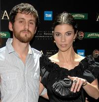 Raul Arevalo and Maribel Verdu at the 22nd Goya Awards Nomination Gala.