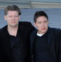 Director Christopher Zalla and Armando Hernandez at the photocall of