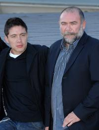 Armando Hernandez and Jesus Ochoa at the photocall of