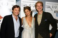Producer Michael Mailer, Christy Scott Cashman and Matthew Modine at the screening of