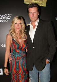Tori Spelling and Dean McDermott at the Mark Burnett and AOL launch of