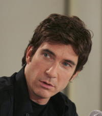 Dylan McDermott at the press conference of the new movie