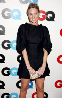 Brianne Davis at the GQ magazines 2005 Men Of The Year celebration.