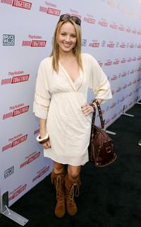 Brianne Davis at the Playstation BANDtogether a benefit.
