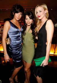 Katie Cassidy, Jenna Dewan and Brianne Davis at the HFPA Salute To Young Hollywood Party.