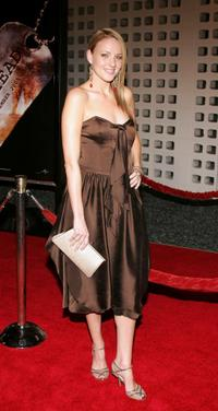 Brianne Davis at the premiere of