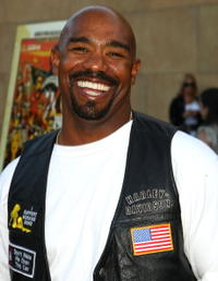 Michael Beach at the premiere of