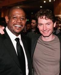 Forest Whitaker and Kevin McDonald at the after party of the premiere of
