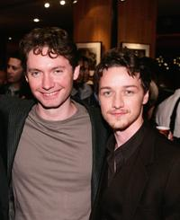 Kevin McDonald and James McAvoy at the after party of the premiere of