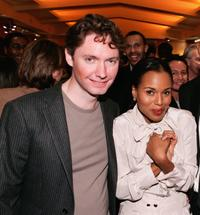 Kevin McDonald and Kerry Washington at the after party of the premiere of