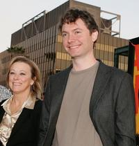 Nancy Utley and Kevin McDonald at the premiere of