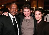 Forest Whitaker, Kevin McDonald and James McAvoy at the after party of the premiere of