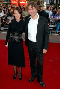 Tatiana Lund and Kevin McDonald at the world premiere of
