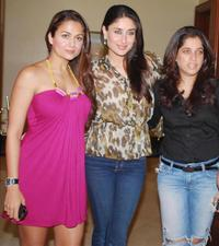 Amrita Arora, Kareena Kapoor and Guest at the launch party of