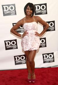 Monique Coleman at the Do Something Awards and official pre-party of 2008 Teen Choice Awards.