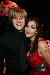 Lucas Grabeel and Emily Morris at the after party of 2006 Creative Arts Awards.