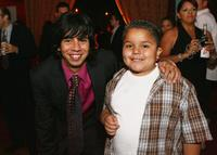 Hector Jimenez and Darius Rose at the after party of the premiere of