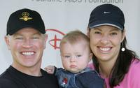 Neal McDonough and his family at the