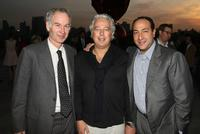 John McEnroe, Aby Rosen and Alberto Mugrabi at the