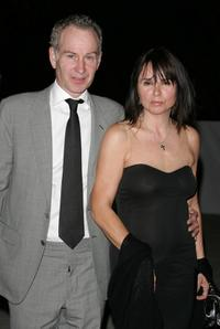 John McEnroe and Patty Smythe at the Vanity Fair 2007 Tribeca Film Festival Party.