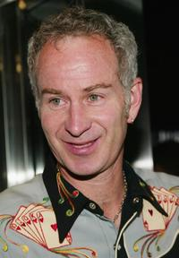 John McEnroe at the special screening after-party of